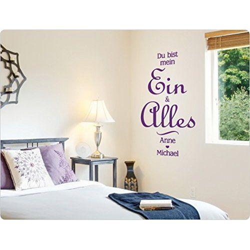 greenluup® Wandtattoo Liebe bedeutet nicht, dass es immer einfach - wandtattoo schlafzimmer sprüche