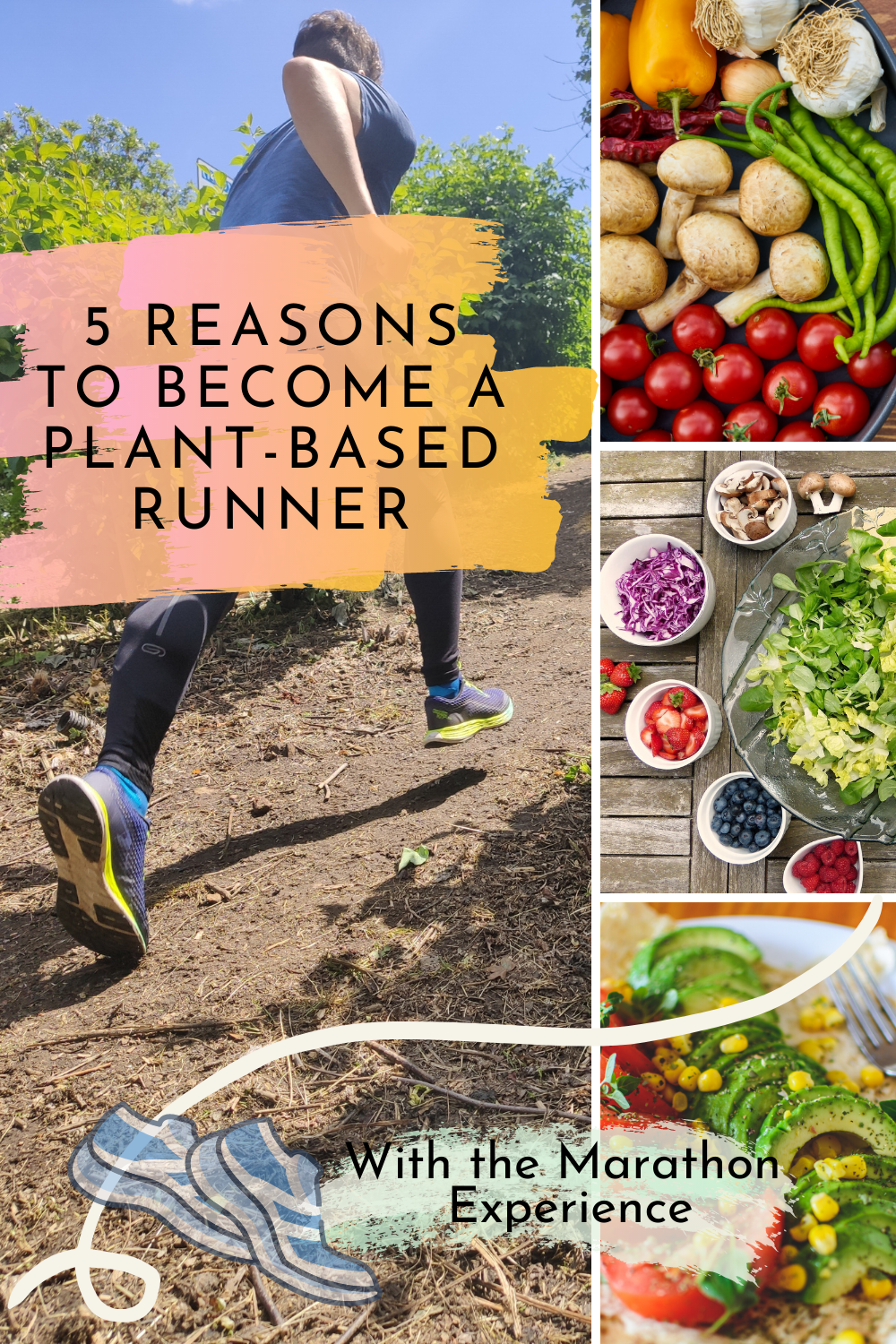 5 Reasons Why You Should Become A Plant Based Runner The Marathon Experience In 2020 Plant Based Running Nutrition Health And Wellness Coach