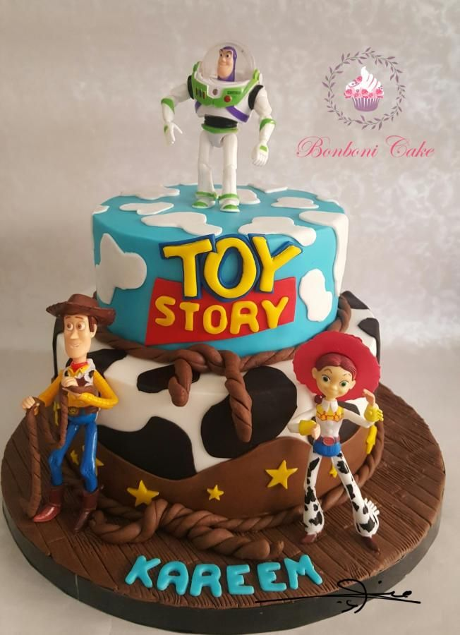 Birthday Cake Toy : Toy story cake by bonboni …