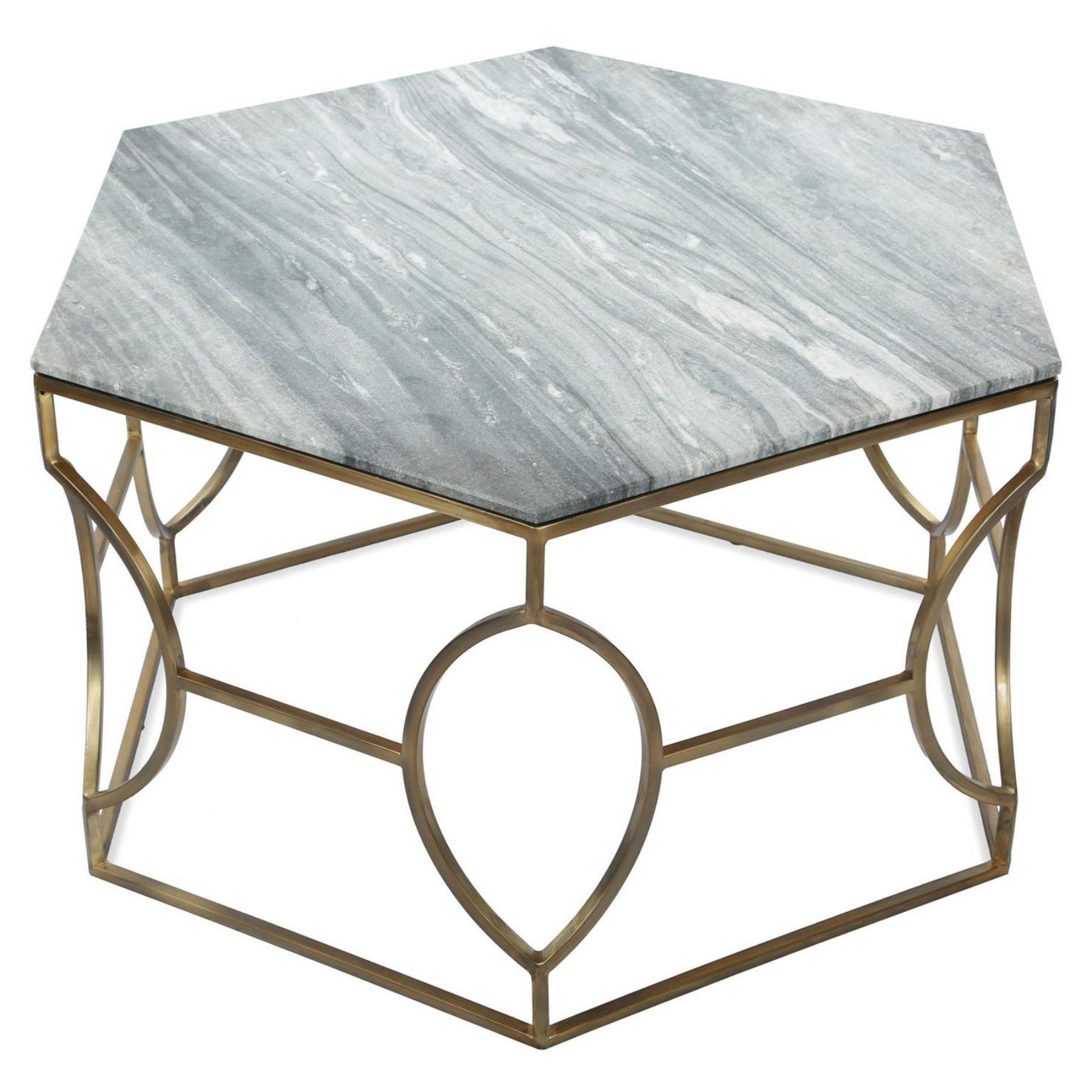Riverside Furniture Barron Marble Hexagon Coffee Table Marble Top Coffee Table Hexagon Coffee Table Riverside Furniture [ 1800 x 1800 Pixel ]
