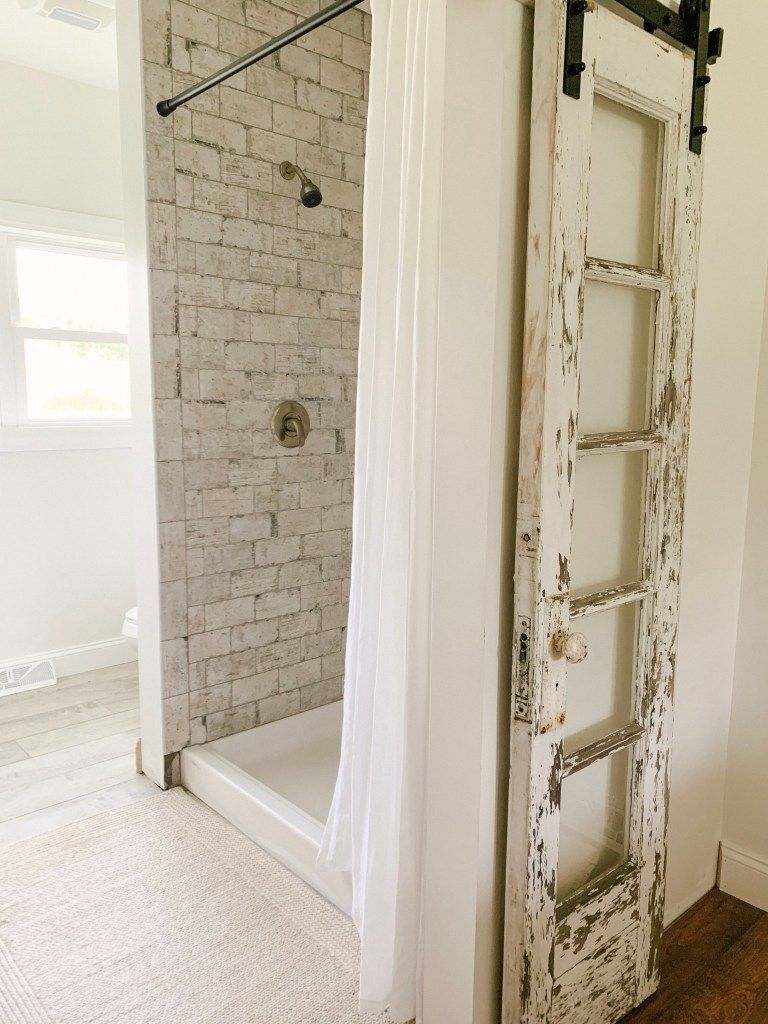 Why We Opted For A Shower Curtain Instead Of A Glass Door In 2020