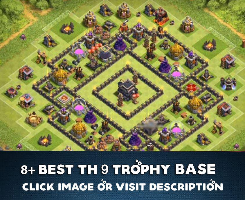 Th9 Best Defense Trophy Base 7