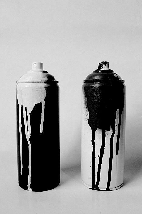 Spray paint | Art in 2019 | Black, white photography, Black