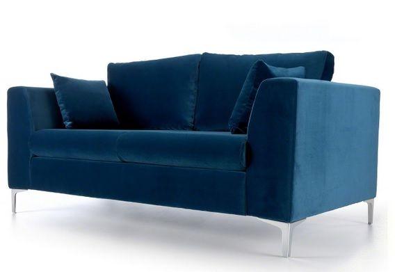 Deep Blue Velvet Sofa 799 00 Http Www Modern Co Uk P Jane Blue Velvet 2 Seater Sofa Htm 2 Seater Sofa Love Seat Living Room Furniture