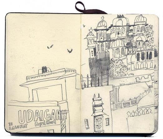 Lara harwood pencil sketch book p1