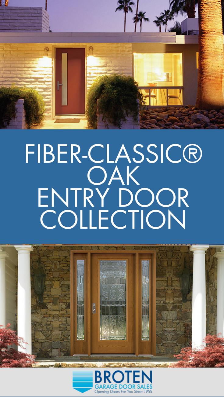 Fiber Classic Oak Entry Doors Front Doors Doors And Garage Door Sales