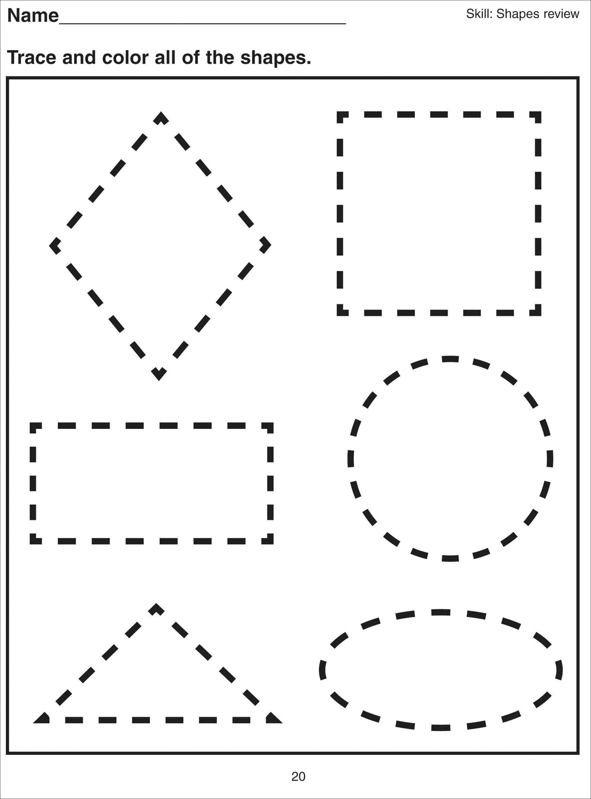 4 New Printable Vocabulary Worksheets Worksheet Printable Basic Shapes Workshe Shapes Worksheet Kindergarten Free Preschool Worksheets Shape Tracing Worksheets