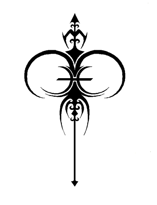 9f435e52ce913 Pisaries symbol - both of my kids' zodiac signs combined Aries And Pisces,  Zodiac