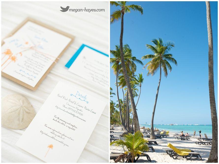 Punta Cana Destination Wedding Invitations