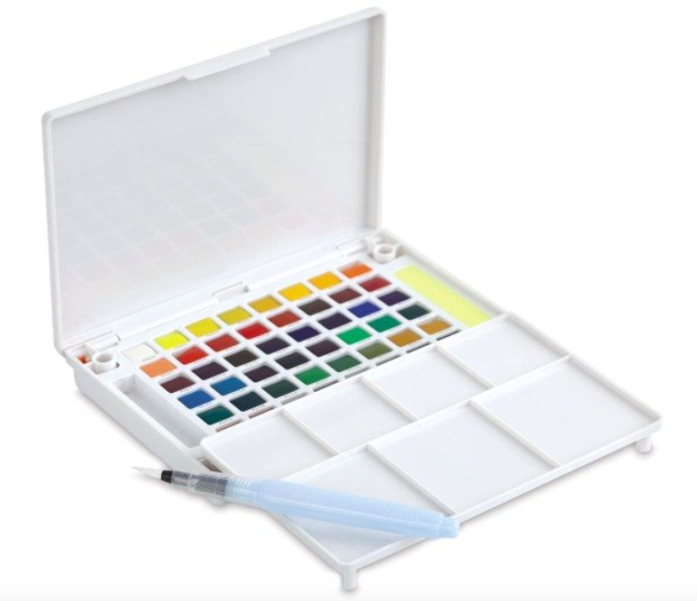 Best Watercolor Paint Brands Sakura Koi Watercolor Koi