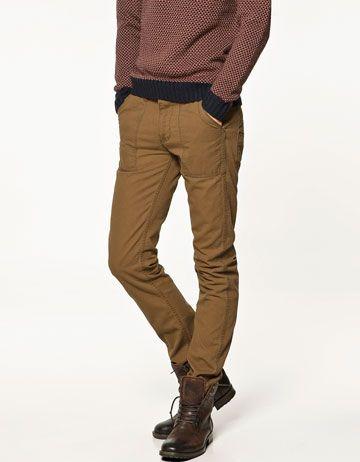 95 Ref Style Zara Pantalon 39 Eur Carpintero Men's 0905400 qwFft67