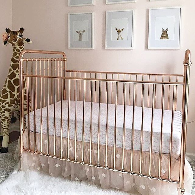 25 Best Rose Gold Crib For Your Baby Nursery