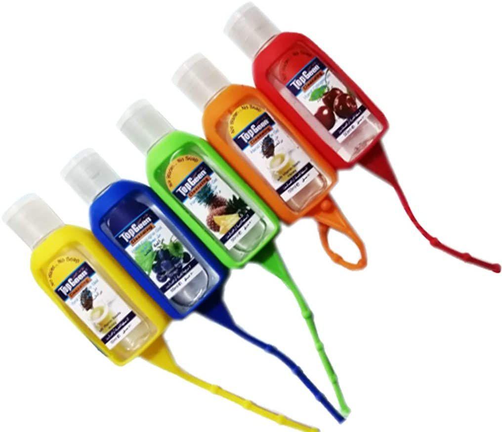 Hr Come 50ml Silicone Mini Hand Sanitizer Disposable No Clean