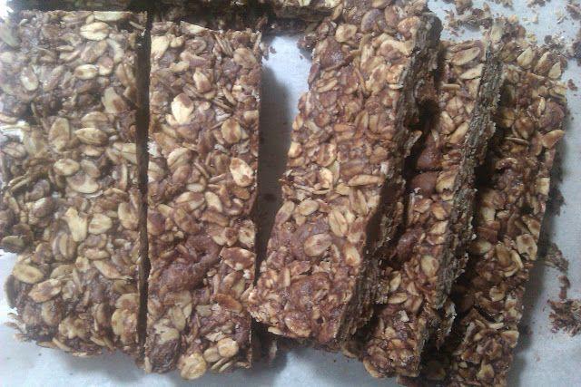 Life at f/2.8: Nutella Granola Bars