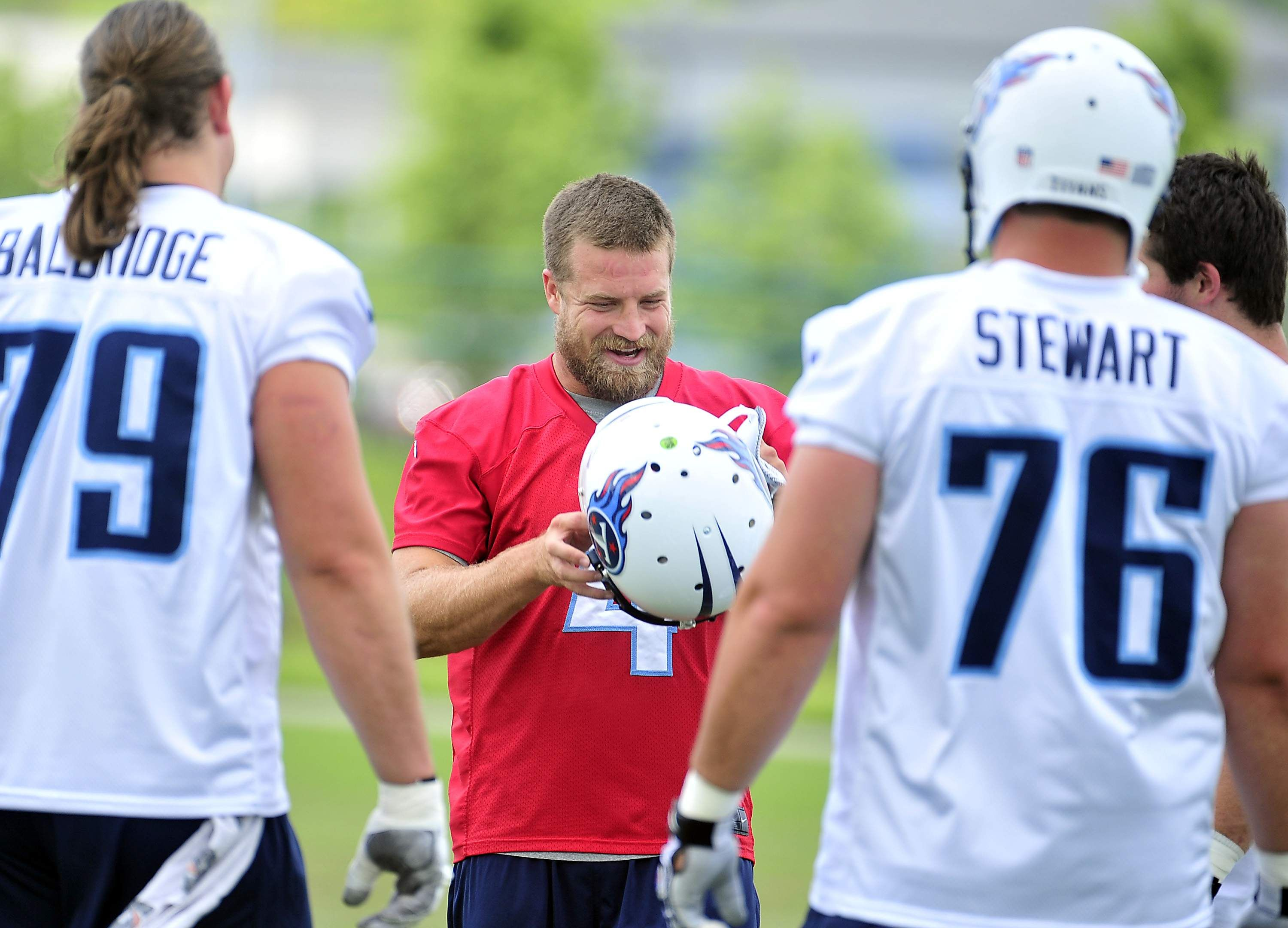 Tennessee Titans' Ryan Fitzpatrick adjusting to life as a backup