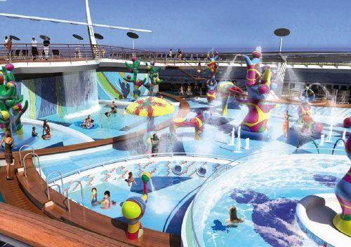 Allure Of The Seas Photo Tour Freedom Of The Seas Water Park Desert Safari Dubai