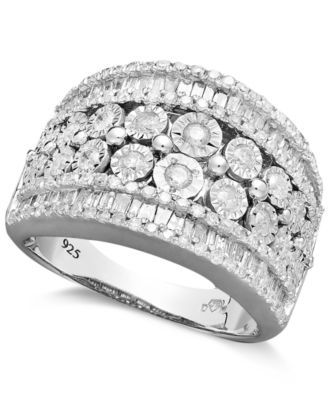b1b9ed449 Certified Diamond Engagement Ring (1 ct. t.w.) in 18k White Gold ...