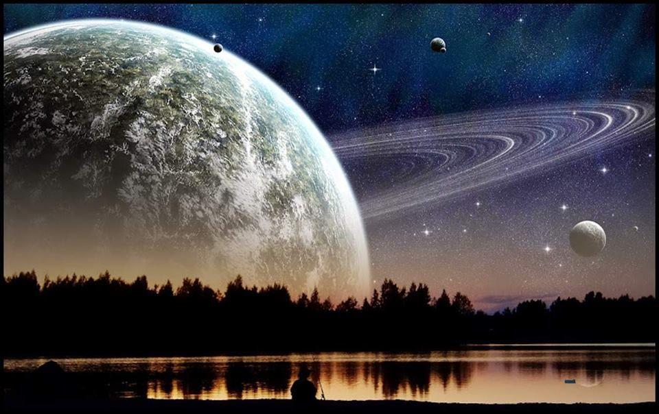 Der Blick in den Sternenhimmel und ein Ohr voller Musik vor dem Zubettgehen, das ist besser als alle deine Schlafmittel. - Hermann Hesse — hier: Neverland.