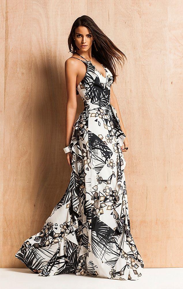 3dd7160cf BPX design & fashionismo: Vestidos longos estampados e fluidos. Ah ...