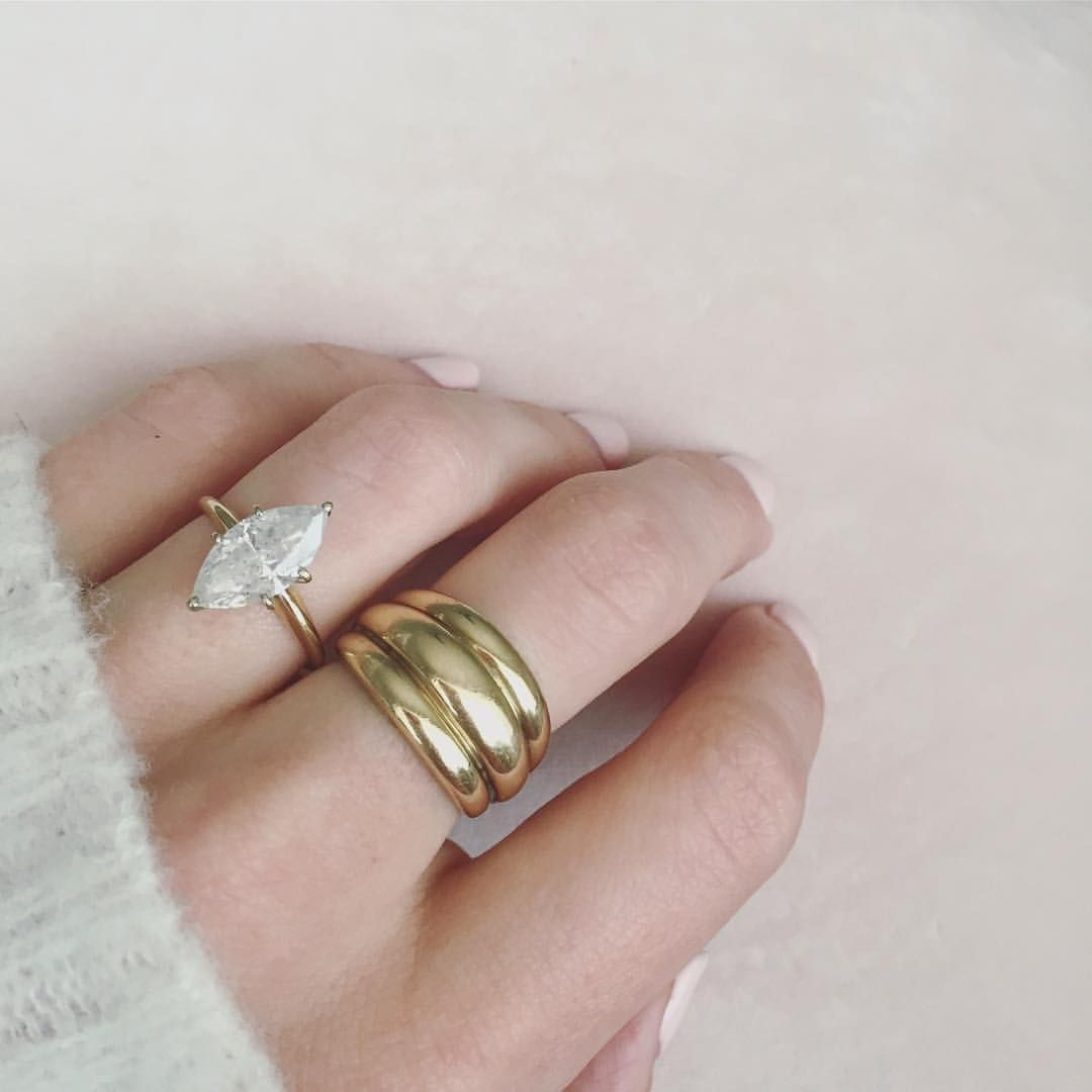 Marquise Diamond Wedding Band Simple Wedding Ring Marquise Style Wedding Ring Pearl Wedding Jewelry Sets Engagement Rings Marquise Wedding Rings Solitaire