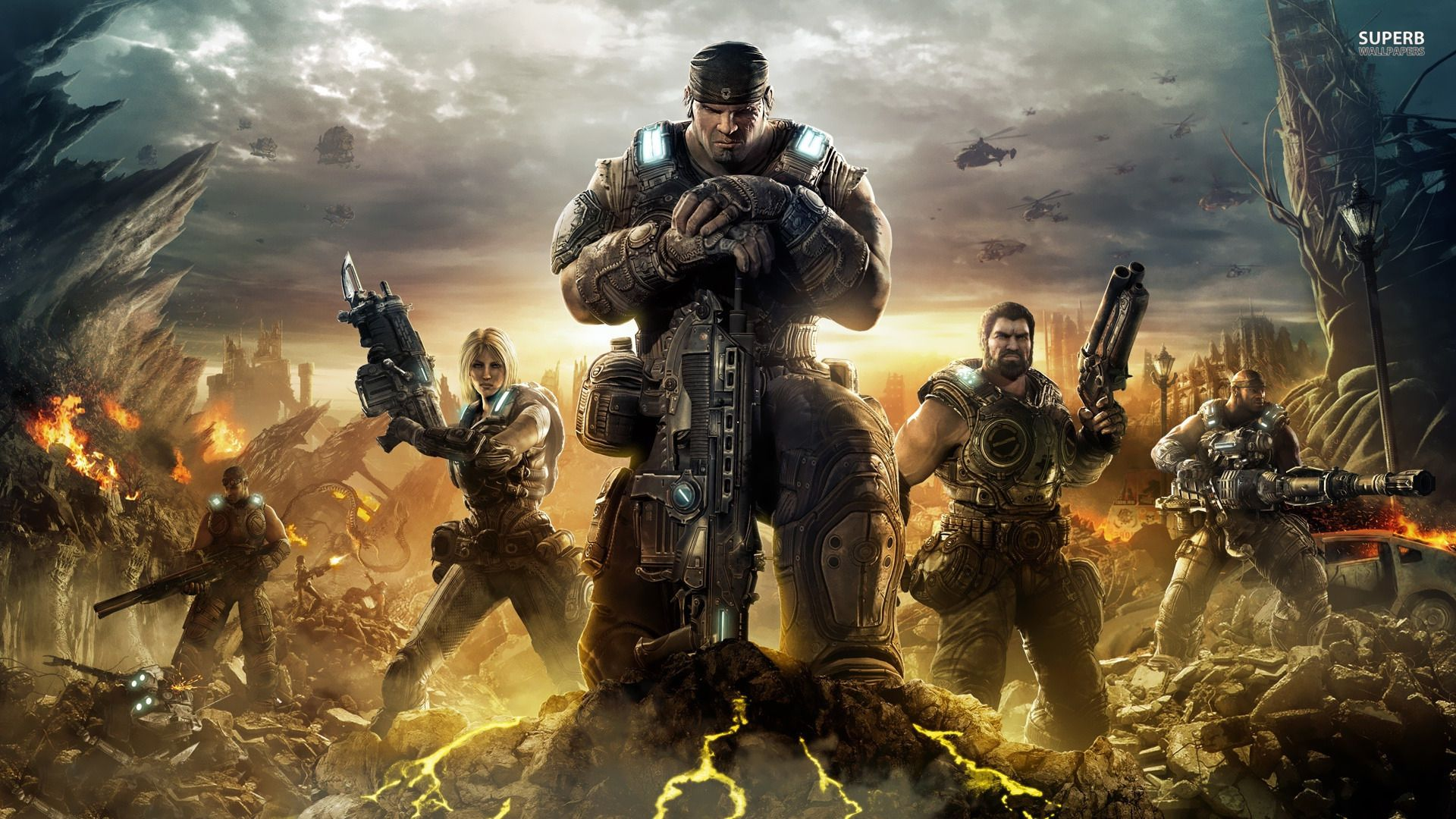 Clayton Carmine And Drone Gears Of War Wallpaper 1024 819 Gears Of War 3 Backgrounds 38 Wallpapers Adorable Wa Gears Of War 3 Gears Of War Gears Of War 2