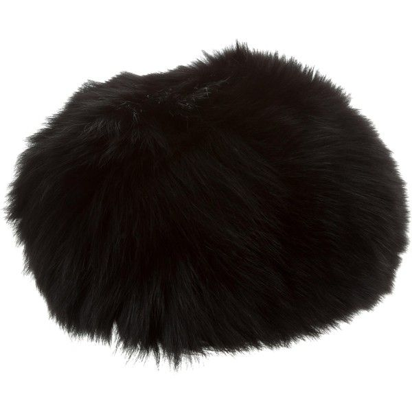 Pre-owned Louis Vuitton Fox Fur Hat (790 NZD) ❤ liked on Polyvore featuring  accessories 3a76f9ee3fd