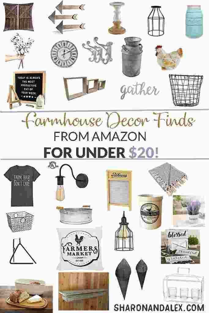 Photo of Farmhouse Decor finden Sie bei Amazon für 20 US-Dollar oder weniger