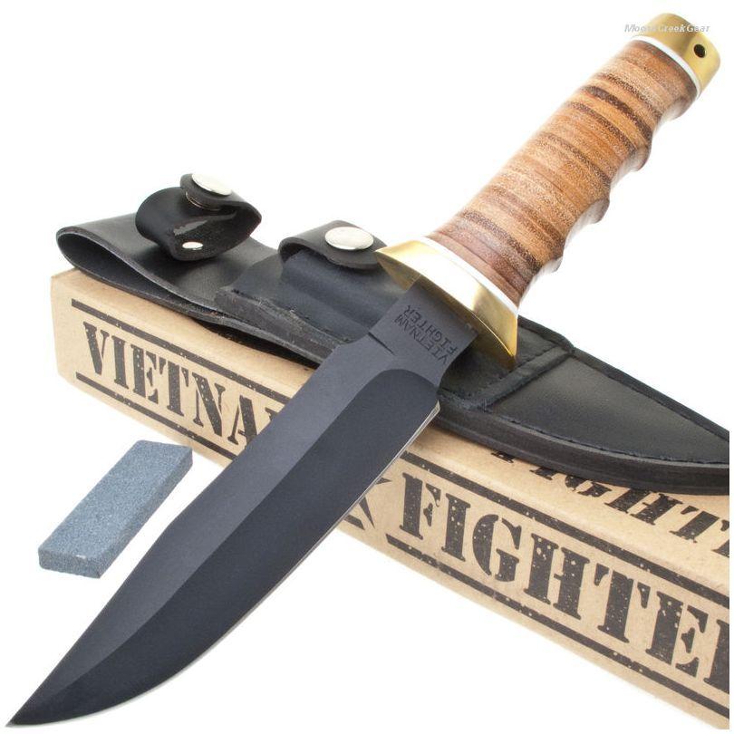 BK1633 MACV-SOG Vietnam Military Knife & Sheath