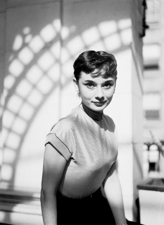 Audrey Hepburn, c.1952. #hollywoodicons