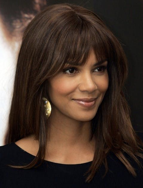 Every Hair Coloring Term You Might Need To Know Halle Berry Hairstyles Long Hair Styles Celebrity Short Hair