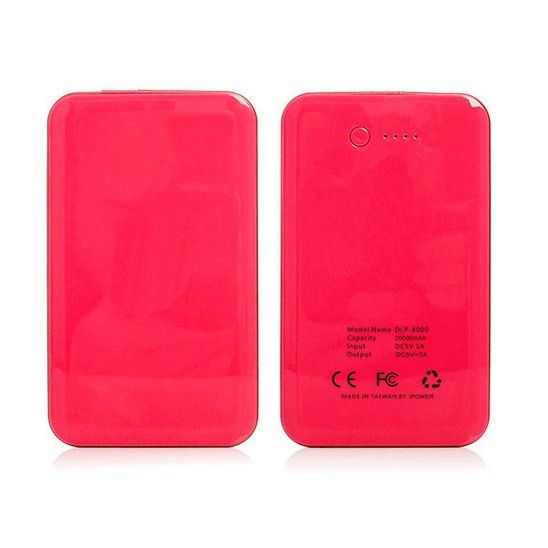 20000mAh Universal Smartphone & Tablet Portable Power Bank - Red