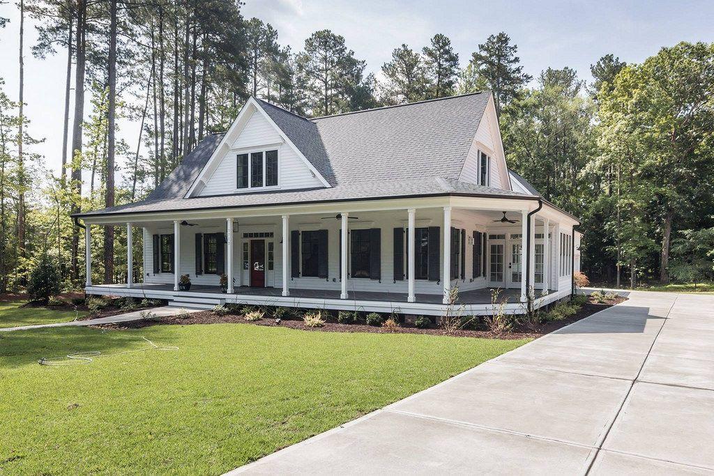 Dream Home Farmhouse Style House Porch House Plans Southern House Plans