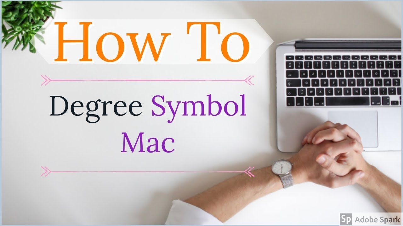 Degree Symbol Mac How to Type Degree Symbol on Macbook