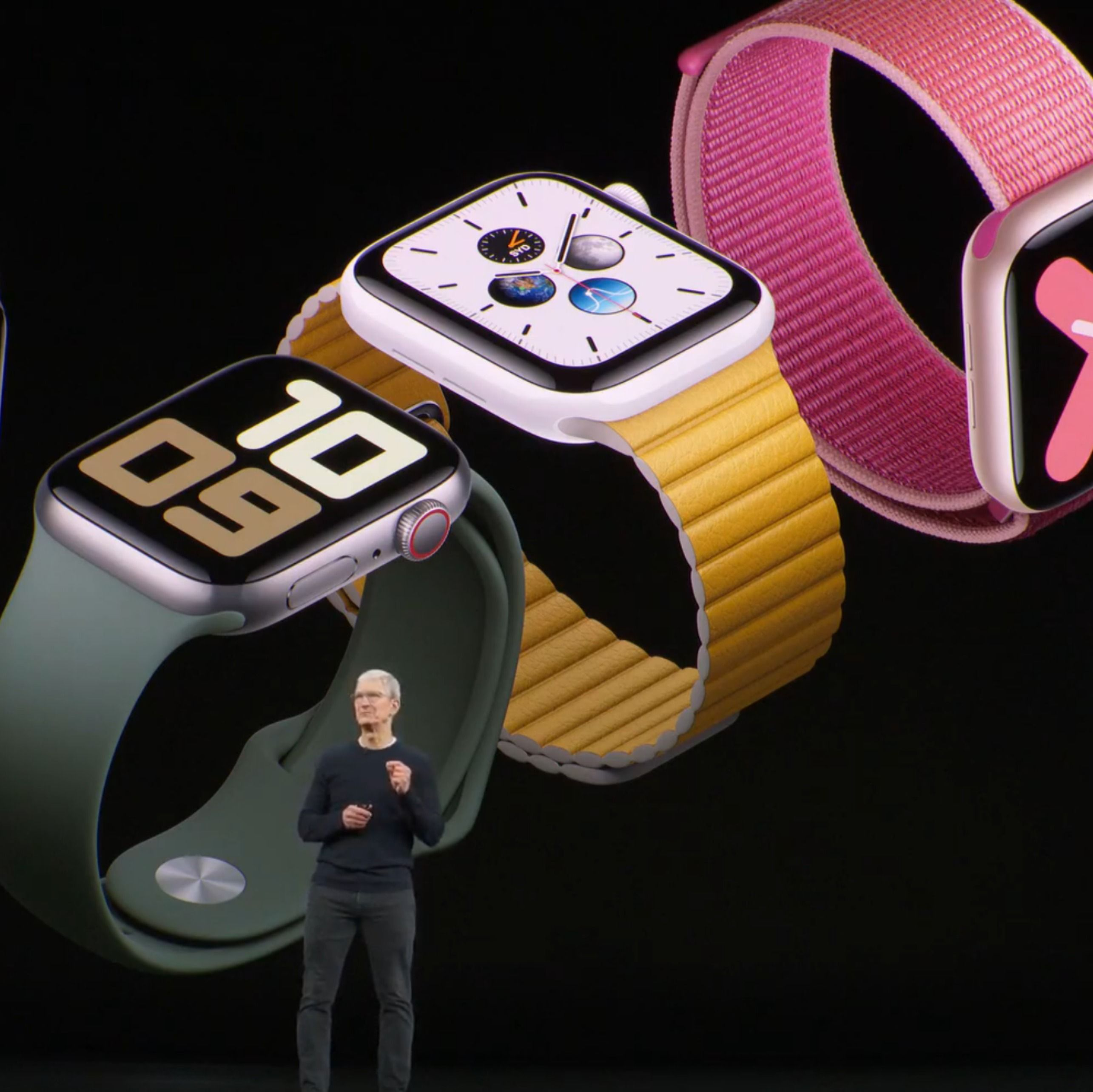 Apple Watch Series 5 starts at 399 (GPS) and 499 (GPS