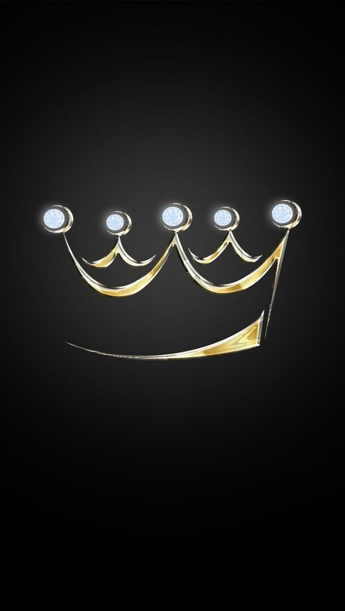 Gold crown background - photo#52