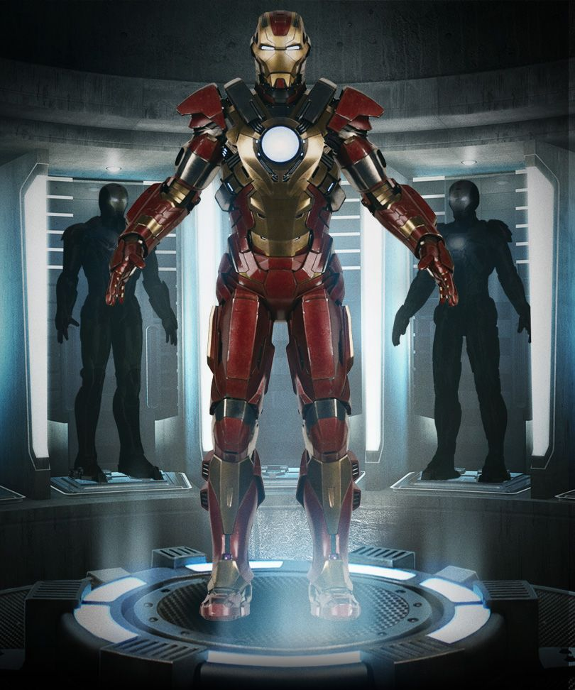 IRON MAN 3 - Mark 35 Red Snapper Rescue Armor  - News - GeekTyrant