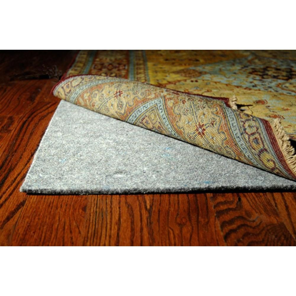 Safavieh Durapad Grey 9 Ft X 12 Ft Non Slip Hard Surface Rug Pad Pad130 9 The Home Depot Area Rug Pad Rugs On Carpet Rug Pad