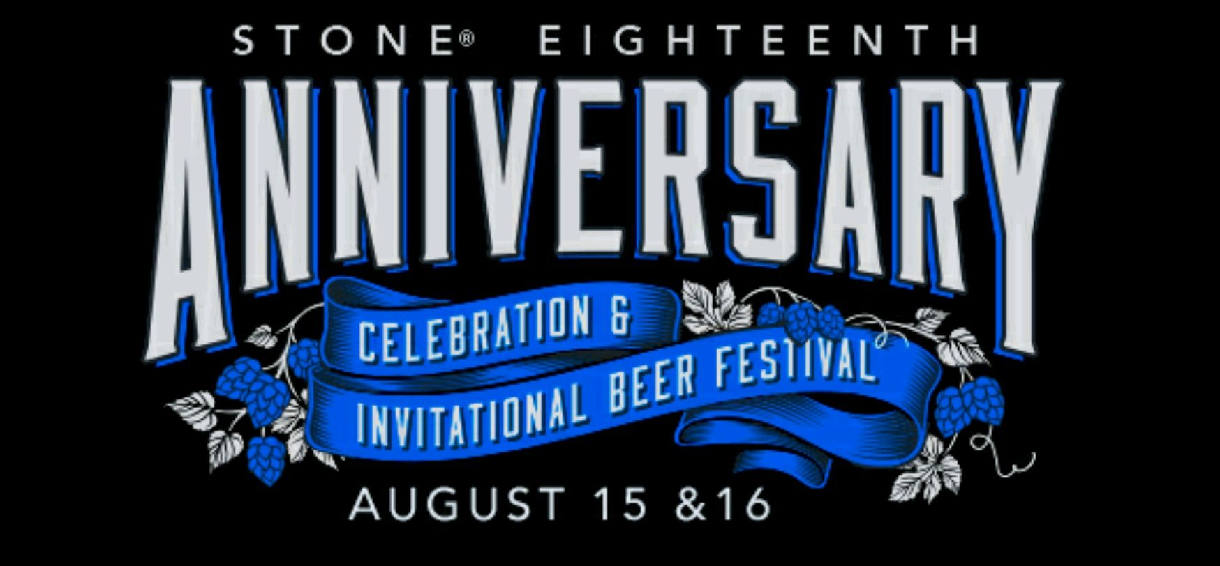 Stone 18th Anniversary Celebration & Invitational Beer