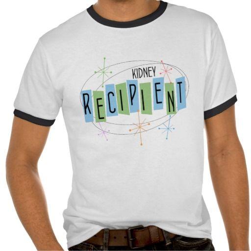 Retro-design kidney recipient t-shirt - Organ donation, liver, kidney, heart, lung transplant.  Bone marrow and Stem cell recipients. #DonateLife #OrganDonation #OrganDonor #TransplantRecipient #Kidneyrecipient