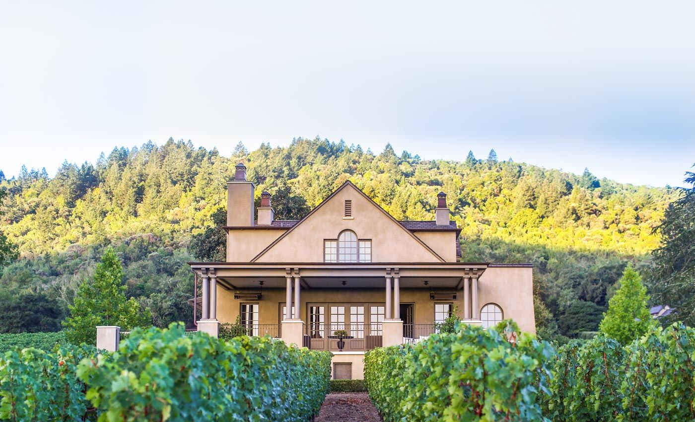 Staglin Family Vineyard Steckter House Napa Valley Vineyards Napa Valley Napa