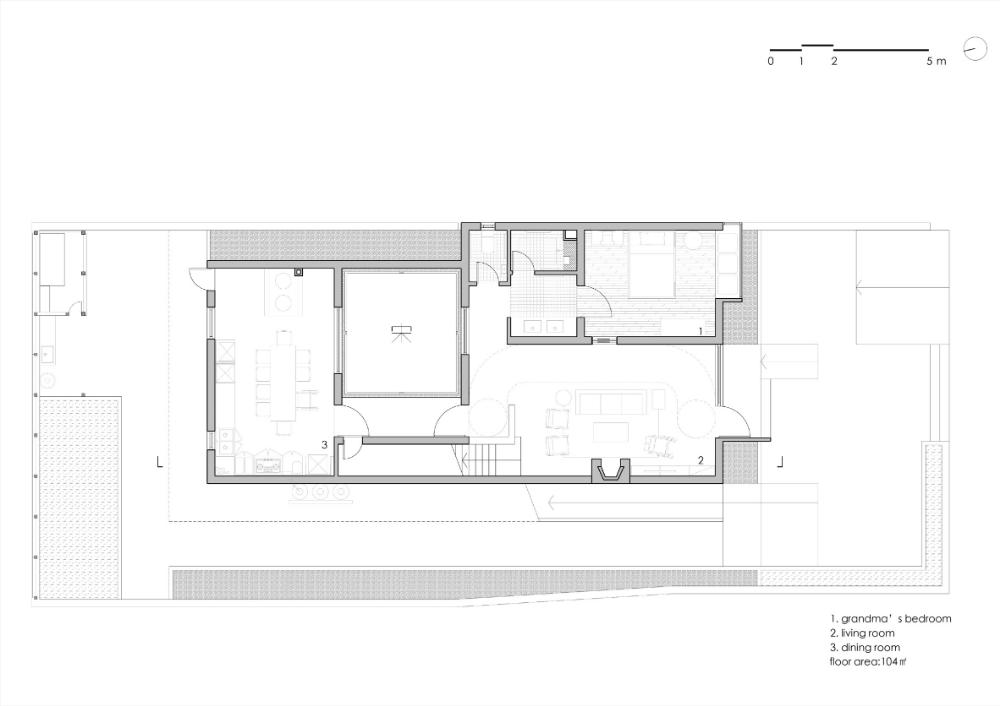 Azl Architects Wraps Wheelchair Ramp Around Multi Generational