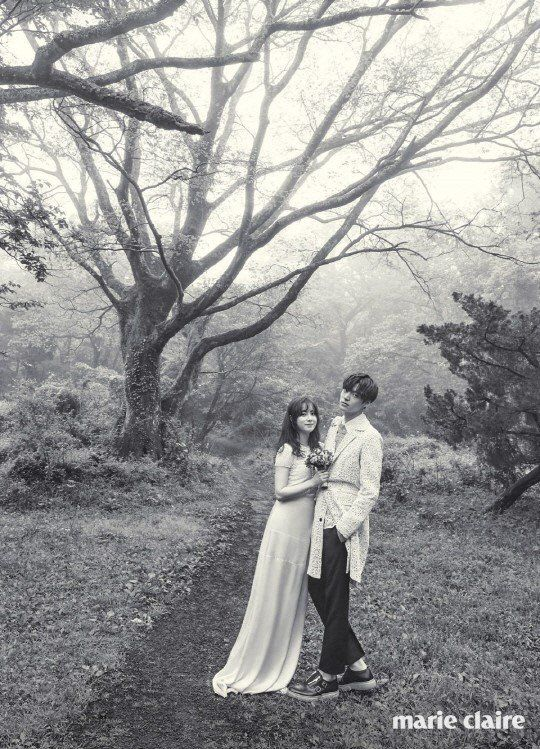 More Sweet Photos From Gu Hye Sun And Ahn Jae Hyun S Marie Claire