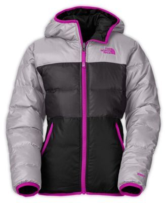 3551b35a9 The North Face Girls' Reversible Moondoggy Jacket | clothes and ...