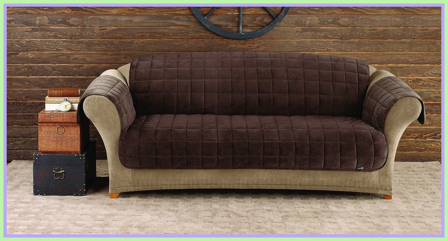 120 Reference Of Sure Fit Deluxe Sofa Cover Gray In 2020 Cushions On Sofa Quilted Sofa Sofa Furniture