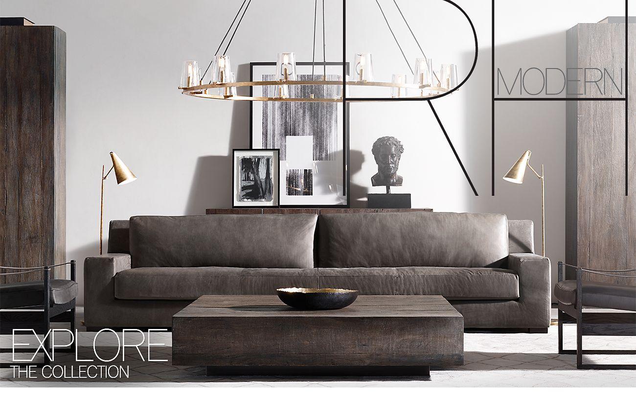 Restoration Hard Black Living Room Living Room Designs Modern Apartment Living Room [ 807 x 1300 Pixel ]