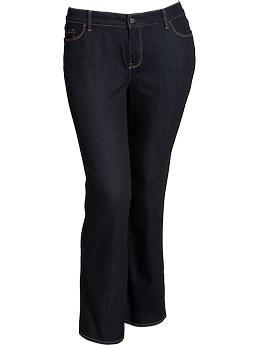778937ea6a330 Women s Plus Tummy-Trimmer Boot-Cut Jeans