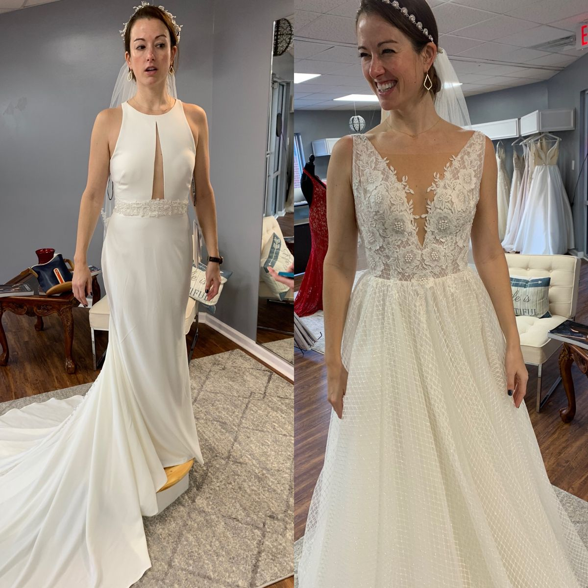 Right or Left in 2020 Online wedding dress, Dresses