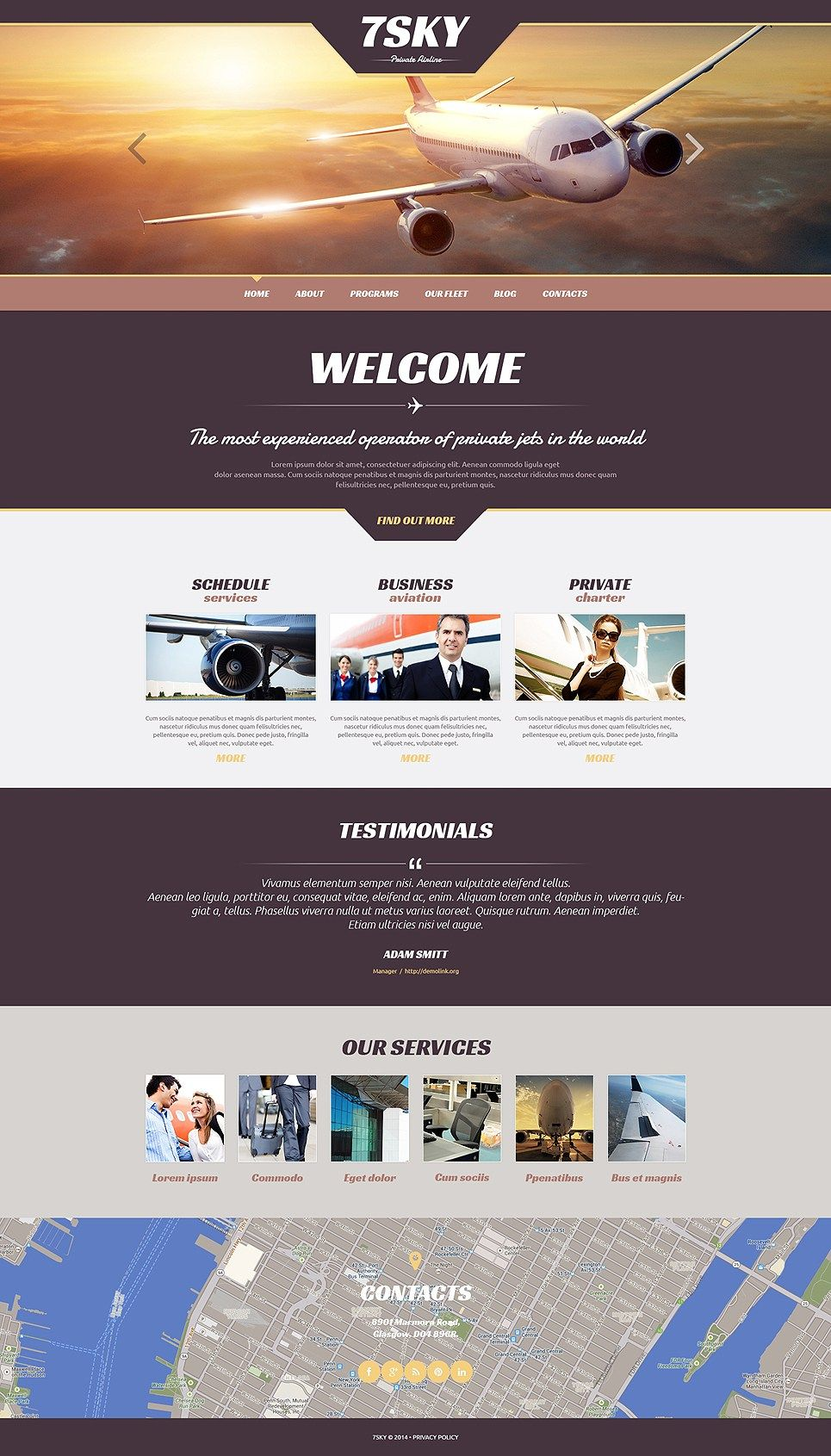4 Best Private Jet Charter Airline Wordpress Themes Wordpress Theme Responsive Wordpress Theme Wordpress Theme Design