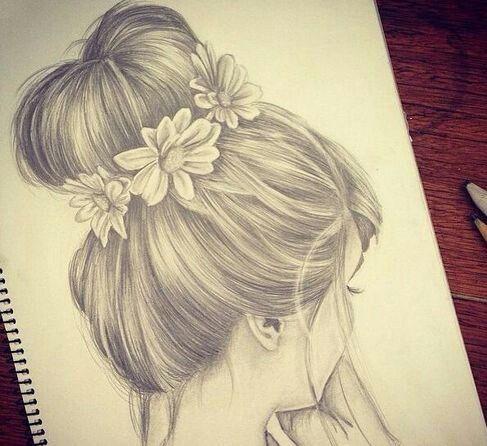 صور رسم تسريحات شعر بنات How To Draw Hair Drawings Cool Drawings