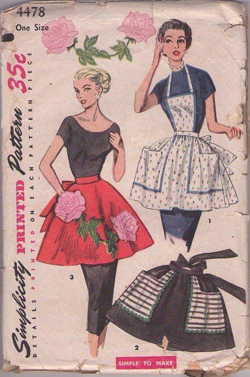 MOMSPatterns Vintage Sewing Patterns - Simplicity 4478 Vintage 50\'s ...